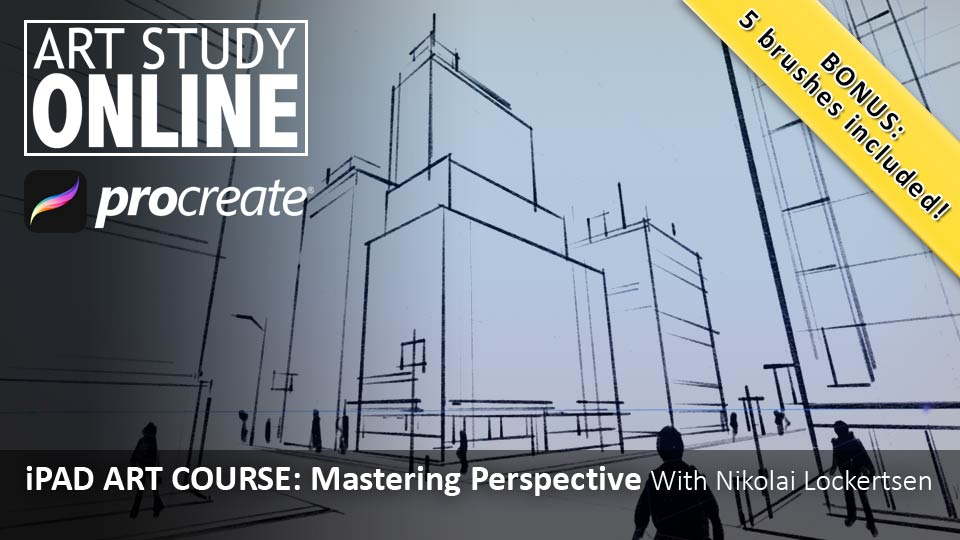 iPad Art Course: Mastering Perspective – Art Study Online