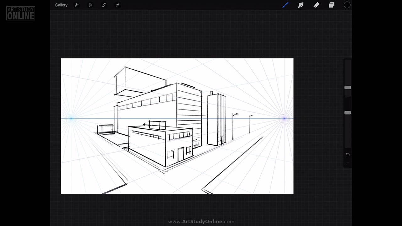 iPad Art Course Mastering Perspective - Art Study Online